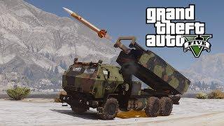 GTA V M142 HIMARS mobile artillery (MOD) thumbnail