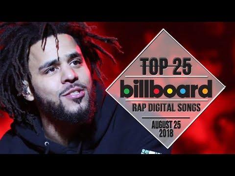 Top 25 • Billboard Rap Songs • August 25, 2018 | Download-Charts