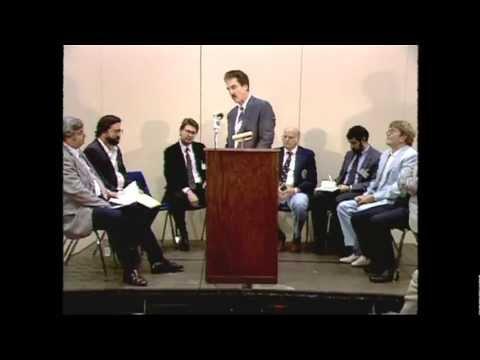 John Highfill, Introductory Remarks, Silver Dollar Investment Seminar, Nov 18, 1988. VIDEO: 9:37