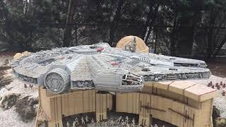 REVIEW: Legoland Florida   Travel Vlog   Legoland Star Wars Rides, Water Park & Rollercoasters