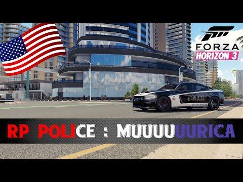 Forza Horizon 3 RP - Radar, café et donuts. (Police Vs Voleurs)