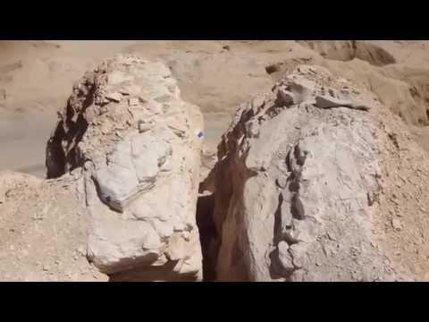Climbing Mt. Hor/Zin in Israel, May 2013