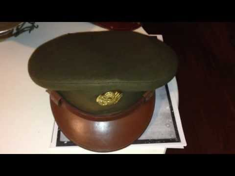 WW2 USAAF Enlisted Crusher Cap