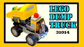 Lego Dump Truck, kit #31014 / Lego stop motion animation build
