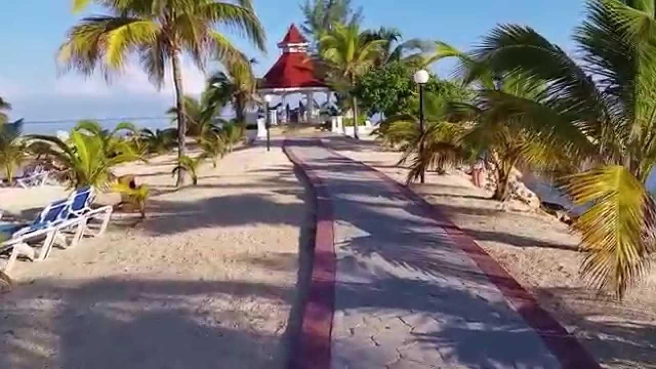 Grand Bahia Pricipe Jamaica Wedding Gazebo Area