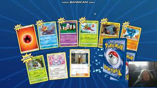 pokemon online trading card game  pack opening #1 [good pulls]