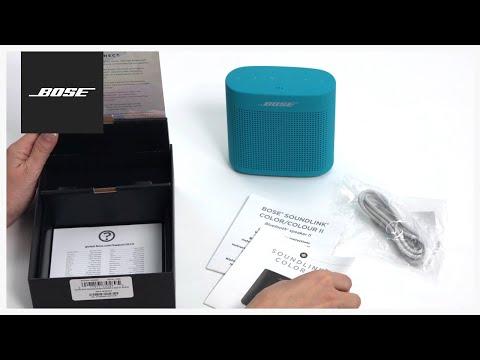 Bose SoundLink Color Bluetooth® speaker II - Unboxing and setup