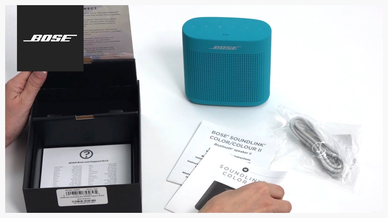 bose soundlink color ii unboxing setup - Pictures To Color In 2