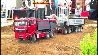 RC Trucks and Construction machines at construction zone Mini-Baustelle Alsfeld 2017 - p5