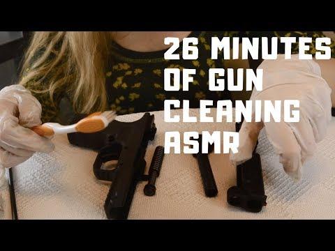 Gun Cleaning ASMR - Springfield XD Mod.2 9mm - No Talking - Metallic Tings, Clanks, Taps