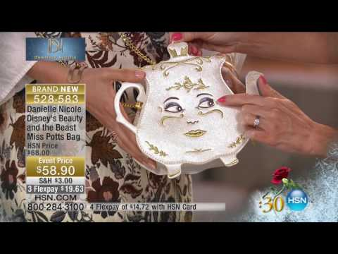 HSN | Beauty & the Beast Fashions & Accessories 03.15.2017 -