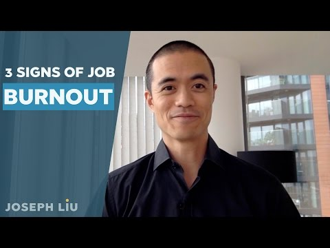 3 Signs of Job Burn Out (Stage 4 of Career Change)