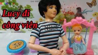 Búp Bê Barbie Và Ken - Lucy Đi Công Viên Cùng Ba Ken Và Kết Cục Của Chuyến Đi Công Viên