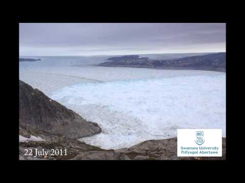 Greenland's Helheim Glacier - 2 Months in 2 Minutes - Watch in HD
