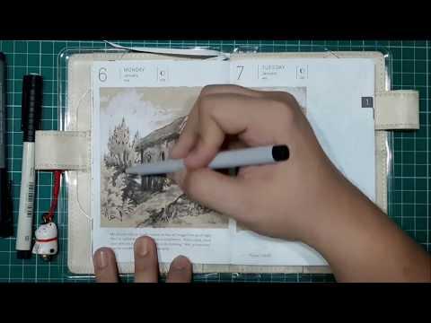 Art Journal Sketching