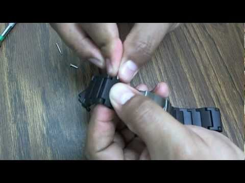 Replacement Black Polyurethane Link Bracelet Band For Luminox Colormark Watches