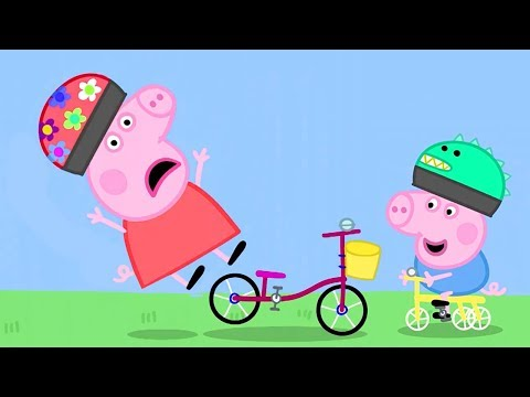 Peppa Pig in Hindi - Bicycles - Cycle - हिंदी Kahaniya - Hindi Cartoons for Kids