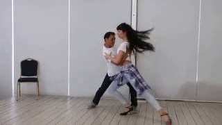 Last Night Bachata  - Bachata Sensual Fabian and Nicolina in Ukraine
