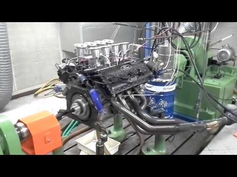 Cosworth DFV V8 F1 - Prova motore al banco