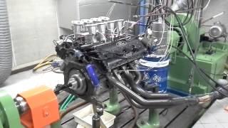 Cosworth DFV F1 - Prova motore al banco