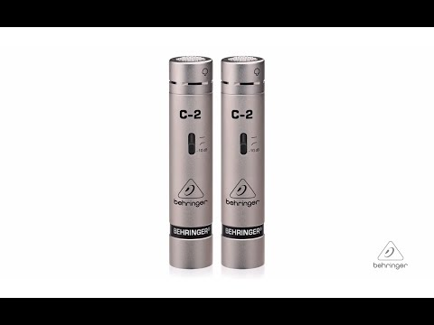 C-2 Matched Pair Studio Condenser Microphones