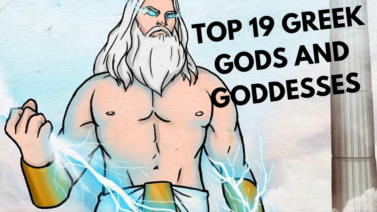 Top 19 Greek Gods and Goddesses Who Ruled Olympus - YouTube