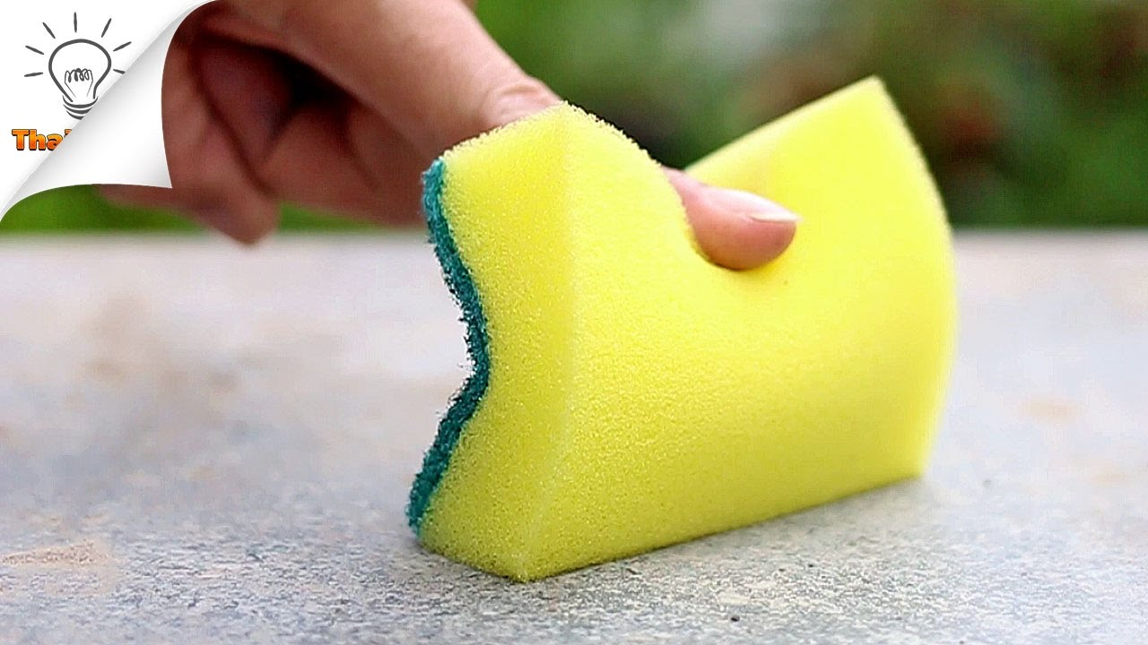 15 Ideas to Use Sponge You Should Know | Thaitrick