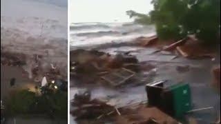 Video Usai Gempa, Tsunami Landa Palu dan Donggala download MP3, 3GP, MP4, WEBM, AVI, FLV Oktober 2018