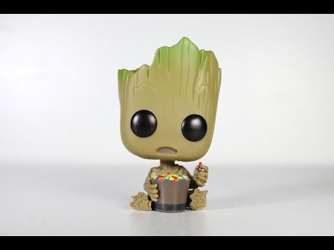 2 Vin... Groot with Candy Bowl US Exclusive Pop Guardians of the Galaxy: Vol