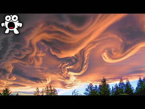 Top 10 STRANGEST CLOUDS Caught On Camera