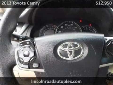 2012 Toyota Camry Used Cars Hattiesburg MS