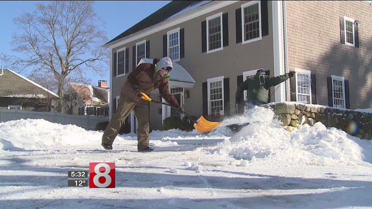 Snow, extreme cold pose dangers for you, your home - YouTube