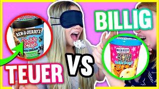 TEUER VS GÜNSTIG!!😱🍧  Was schmeckt besser?!😳 DER TEST MIT MEGGY!