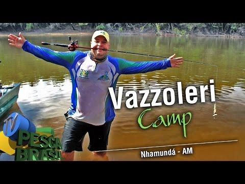 TV PESCA BRASIL - Vazzoleri Camp - Rio Paratucu - AM