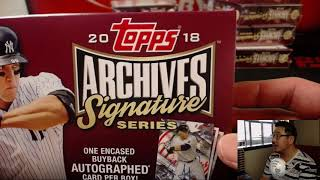 We., 07/11/18 [10Box (1/2) RB] #1 - 2018 Topps ARCHIVES SIGNATURES SERIES Baseball (MLB)