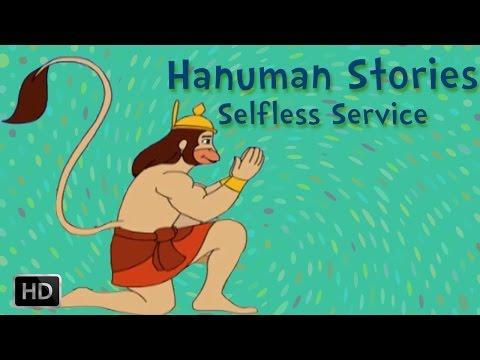 Hanuman Stories - Hanuman Selfless Service To Lord Ram
