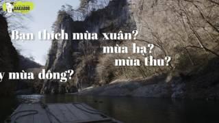 Học tiếng Nhật qua bài hát - Shiki no uta