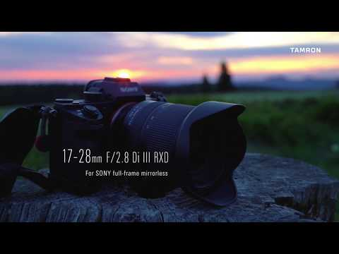 Tamron's NEW 17-28mm F/2.8 Di III RXD for Sony Full Frame Mirrorless
