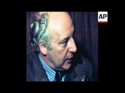 SYND 16/02/1971WEST GERMAN FOREIGN MINISTER WALTER SCHEEL ARRIVES IN NEW YORK