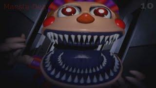 Todos los jumpscares de FNaF 4 Halloween Edition Slow motion c mara lenta
