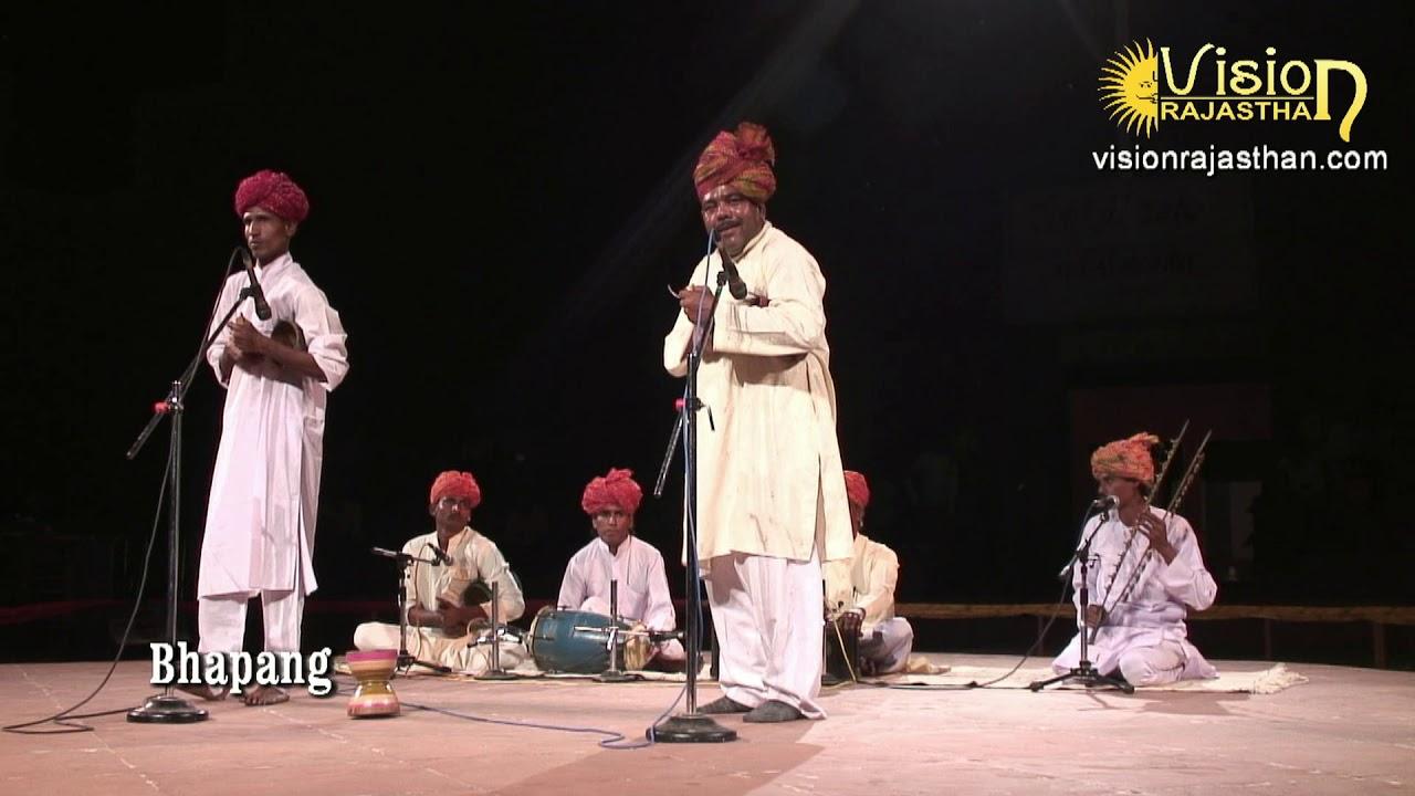 Bhapang Music, Rajasthan