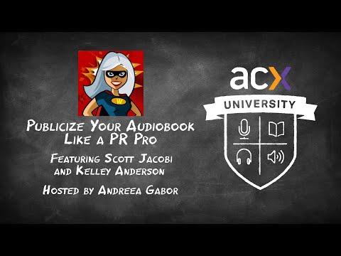 Publicize Your Audiobook Like a PR Pro
