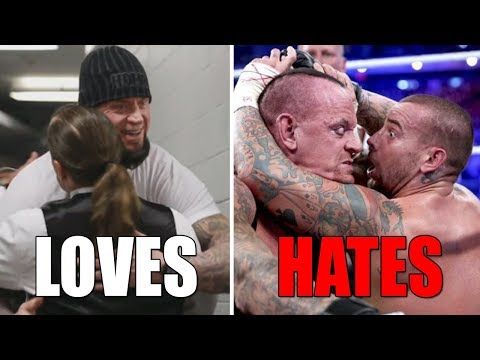 6 WWE Wrestlers The Undertaker Is Friends With & 7 He HATES (Enemies) in Real Life