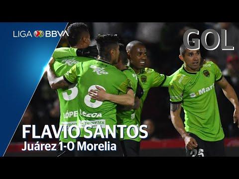 Juárez [1] - 0 Morelia (F. Santos 26')