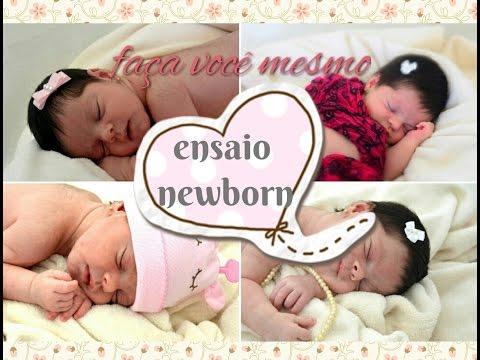 Ensaio newborn: faça