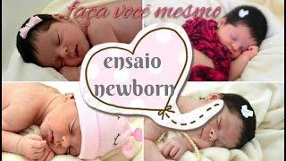 Ensaio newborn: faça você mesmo