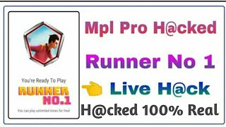 MPL Full hack Mod Apk For all users || Hacked Mpl Runner Game Fully hacked Mod Apk