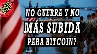 Bitcoin: Corrige como el oro o SUBE más? Se calma la guerra y se calman los mercados...