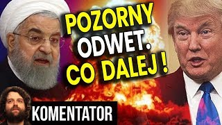 Odwet Iranu na USA był POZORNY! - Dlaczego Amerykanie Nie Zestrzelili Rakiet? - Analiza Komentator