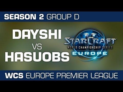 Dayshi vs. HasuObs - Group D Ro32 - WCS European Premier League - StarCraft 2